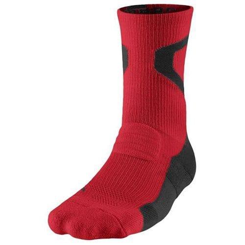 a56e7685 Air Jordan Jumpman Dri-FIT Crew Sock (Gym Red/Black)